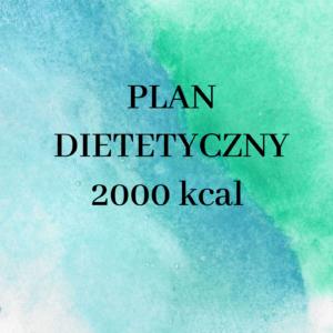 Jadłospis klasyczny 2000 kcal + przepisy na domowe izotoniki