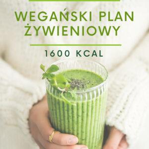 Jadłospis wegański 1600 kcal w formie e-booka
